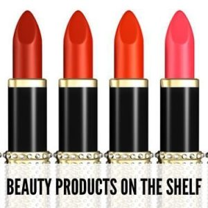 Beauty Products On The Shelf