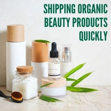 Shipping Organic Beauty Products Quickly Feature