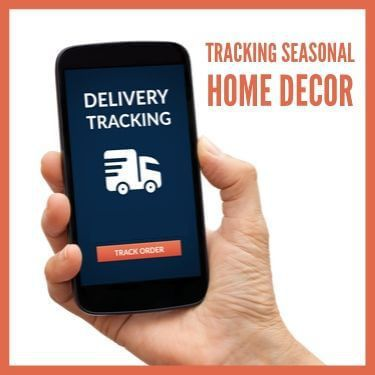 Tracking Seasonal Home Decor