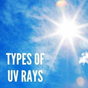 Types of UV Rays