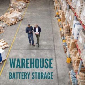 Warehouse Battery Storage