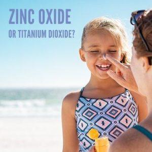 Zinc Oxide or Titanium Dioxide