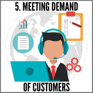 Meeting Demand of Customers