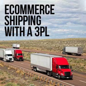 Ecommerce shipping with a 3PL