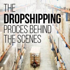The dropshipping process behind the scenes
