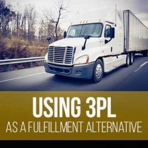 Using a 3PL as a fulfillment alternative