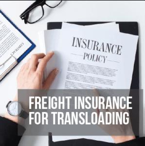 Freight Insurance for Transloading