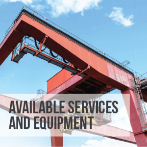 Available Services and Equipment