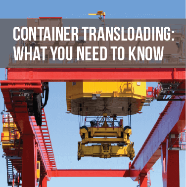 Container Transloading: What You Need to Know